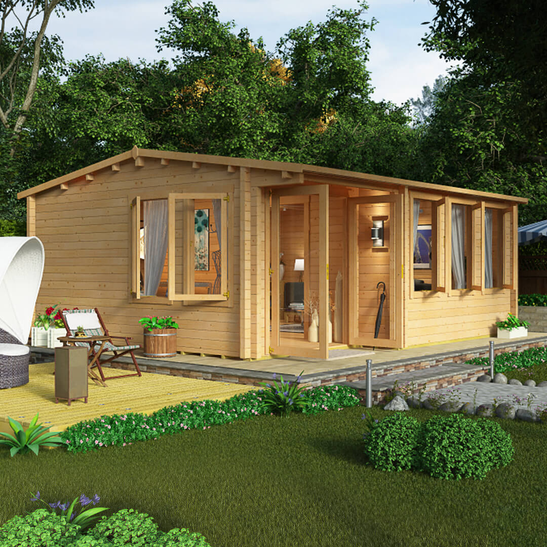 7 Tips For Choosing The Perfect Garden Log Cabin